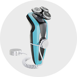 JPlug AlarmCore2 button to select shaver